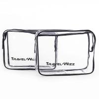 Clear PVC Bag - 2 piecess TSA Approved Multipurpose - First Aid Photo