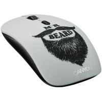Canyon Beard Wireless Mouse USB 2.0 with 2 Removable Covers Photo
