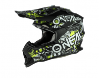ONeal O'Neal Kids 2 Series Attack Black/Neon Helmet Photo