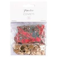 AK Christmas Confetti - Gold Nutcracker Confetti Photo