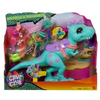 Mattel Cave Club Rockelle Doll And Tyrasaurus Dinosaur Playset Photo