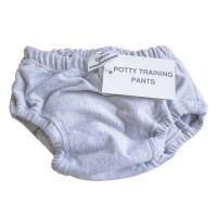 mother nature products Potty Training Pants Grey Photo