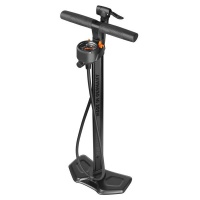 SKS Germany SKS Bicycle Floor Pump Extra Height with Multivalve AIRWORX PLUS 10.0 Black Photo
