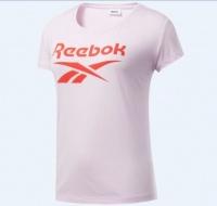 Reebok - Women's Training Ts Graphic Tee - White Photo