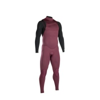 iON Wetsuit - Onyx Core FZ 4/3 2020 - Red/Black Photo