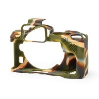 EasyCover PRO Silicon Camera Case for Nikon Z50 - Camouflage Digital Camera Photo