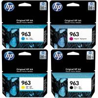 HP 963 Black Cyan Magenta Yellow Multi Pack Ink Cartridges Photo