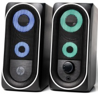 HP Multimedia Desktop Stereo Speakers with LED's Photo