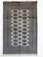 Exclusive Home Decor- Handmade Grey Bukhara Persian Rug/carpet- 180 x 125cm Photo