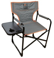 BaseCamp Chair Directors High With Table Aluminium Photo