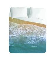 Imaginate Decor - Ocean Shoreline Duvet Cover Set Photo