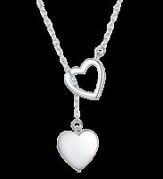 YALLI - Double Heart Necklace Photo