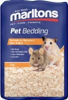 Marltons - Pet Bedding 9 Litre Compressed Brick - 2kg Photo