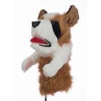 Golf Driver Cover - Dog Photo