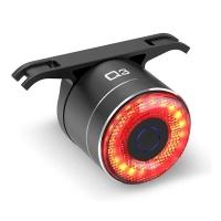 Ultra Scooter Rear Bike Light With Auto-Sensing Brake System Photo