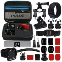 """PULUZ 24"""" 1 Bike & Outdoor Mount Accessories Combo Kit For Action Cameras Photo"""
