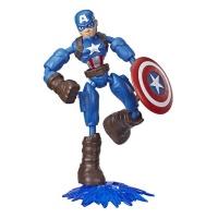 Marvel Avengers Bend And Flex Captain America Action Figure 64188 Photo