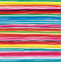 Gift Wrapping Paper 5m Rolls - Rainbow Stripes Photo