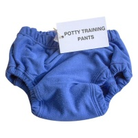 mother nature products Potty Traning Pants Royal Blue Photo