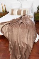 Sesli 3037 Sesli Faux Fur Blanket 2 Ply - Brown Photo