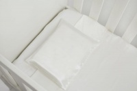 Cocoon Bedding - 100% Pure Mulberry Silk Cot Pillow Case - Juno Range Photo