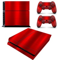 SKIN-NIT Decal Skin For PS4: Chrome Red Photo