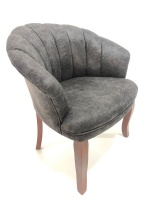 Decorist Home Gallery Lorenzo 2 Grey Armchair Photo