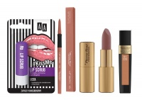 Glamore Cosmetics 4 Piece Nude Lip Scrub Bundle Photo