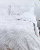George Mason George & Mason - 180TC Palm Leaves 100% Cotton Duvet Set Photo