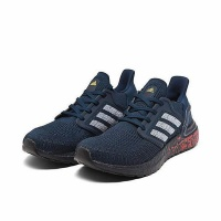 adidas Men's UltraBoost 20 Running Shoes - Navy Photo