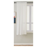Matoc Designs Matoc Readymade Short Curtain 160cm Height -MysticVoile -RodPocket OffWhite Photo