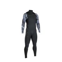 iON Wetsuit - Onyx Amp FZ 4/3 2020 - Black Grey Capsule Photo