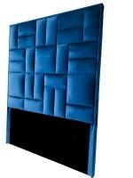 Decorist Home Gallery Modern - Blue Headboard Super King Size Photo