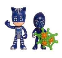 PJ Masks 2 Pack Hero vs Villain - Catboy & Night Ninja Photo