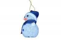Snowman LED Light Decoration - Blue Photo