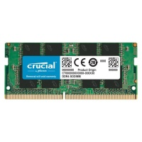 Crucial 16GB DDR4 3200MHz SO-DIMM Single Ranked Module - Green Photo