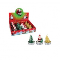 12 pieces Christmas Tealight Candles Photo