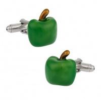 Apple OTC Green Style Pair of Cufflinks - Mens Gift Photo