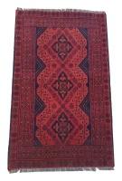 Quality Persian Rugs Gorgeous Genuine Turkman Carpet - 120 x 80 cm Photo