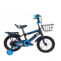 "Kids Bike with Training Wheels - 14"" Photo"