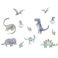 AOOYOU Dinosaur Wall Vinyl Art Decoration for Kids Room Photo