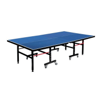 Mitzuma Premium Table Tennis Table and Ping Pong Table Photo