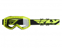 Fly Racing Fly Focus Hi-Vis Yellow/Clear Goggle Photo