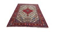 Very Fine Persian Joshegan Carpet 254cm x 168cm Hand Knotted Photo