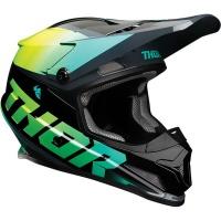 Thor Sector Fader Acid/Teal Helmet Photo