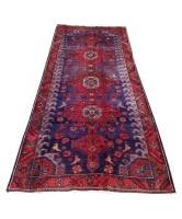 Quality Persian Rugs Gorgeous Fine Vintage Style Hamadan Carpet 270 X 130cm Photo