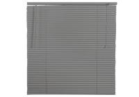 25mm PVC Wood Grain Venetian Home & Office Blinds - 1200mm x 1500mm - Grey Photo