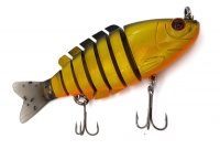 Bass Hunter Fishing Swimbait Lure - GB/ Orange Photo