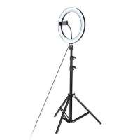 """S Cape S-Cape Floor 10"""" Ring Light for Cell Phones Photo"""