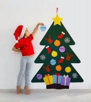 Felt Christmas Tree for Kids - 22 Pieces Photo